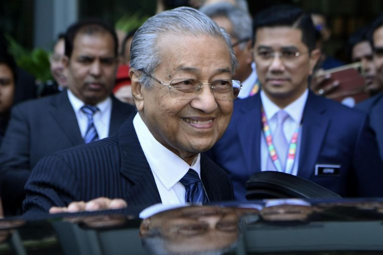 Malaysian PM Mahathir Will Not Step Down Until He Has Resolved Country's Problems