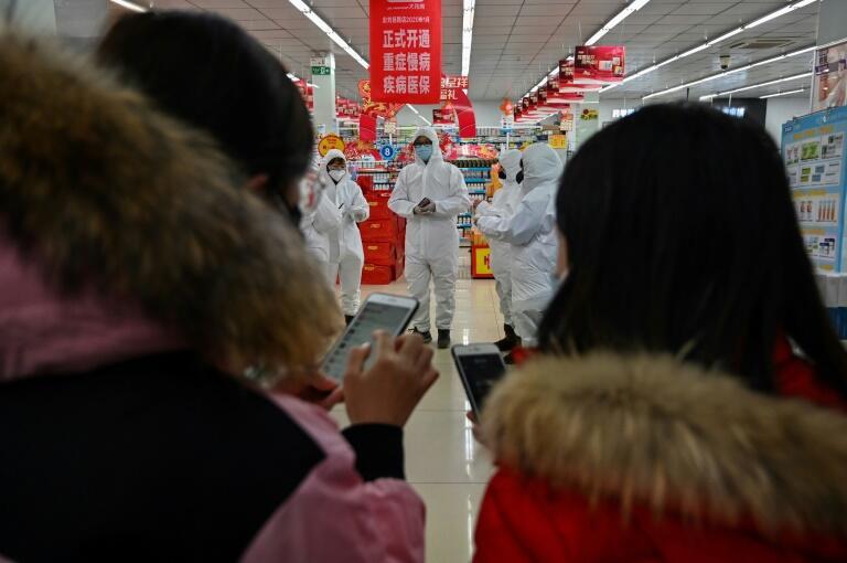 China's Coronavirus Death Toll Hits New 213 Record
