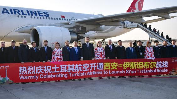 Turkish Airlines Suspends Flights to Mainland China