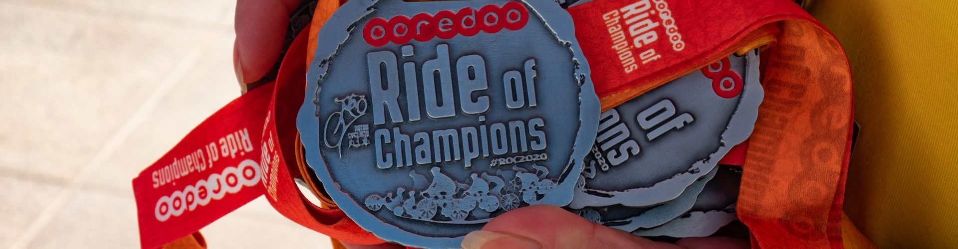 Safety First to Enable Fun Was the Key Theme at the 2020 Ooredoo Ride of Champions, Enabling Thousands to Have Fun, Get Exercise and look after their Mental Health in 2020