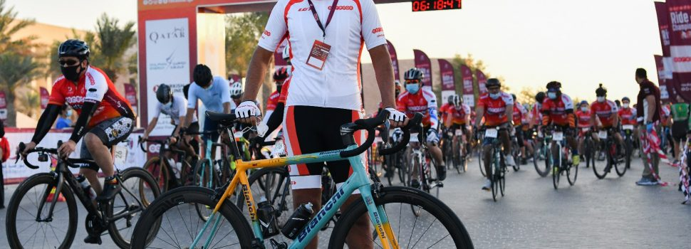 The Qatar Cyclists Center organised 2020 Ooredoo Ride of Champions Believed to Be The Most Accessible Mass Participation Event in Qatar's History, Featuring Best Buddies, Accessible Qatar, and More!