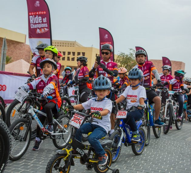 2020 Ooredoo Ride of Champions, a Ride for All