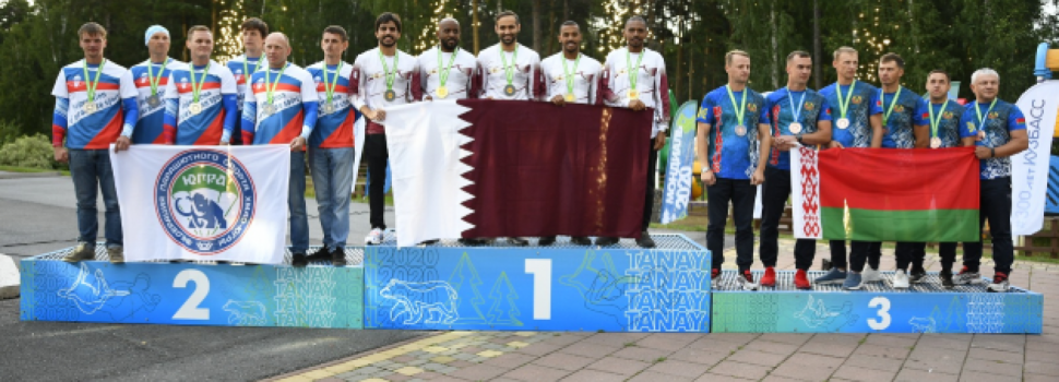 Qatar parachute team wins gold at the World Parachute Championships in Russia