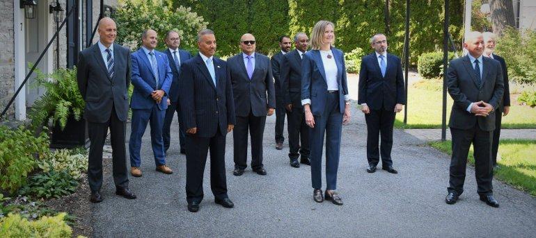 Global Affair Canada holds reception for Qatar's Ambassador on end of tenure
