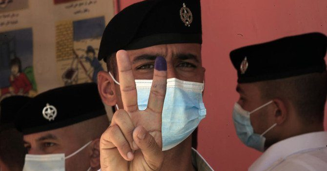 Security Forces Vote in Iraq's General Election