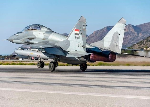 Egypt, Greek Air Forces Complete Training Exercise